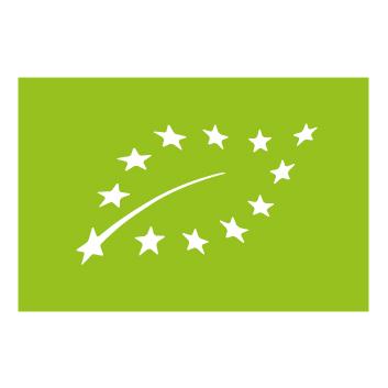 Le logo éco feuille vert, agriculture biologique
